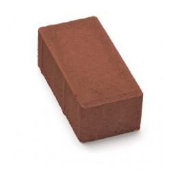 Тротуарная плитка Кирпичик П20.10.8 красная 3%