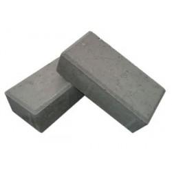 Тротуарная плитка Кирпичик 198х98х60 серая низкая цена