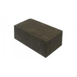 Тротуарная плитка Кирпичик П20.10.8 черная 3%