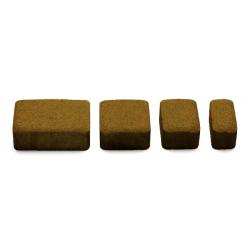 Купить вибропрессованную тротуарную плитку Старый город коричневого цвета